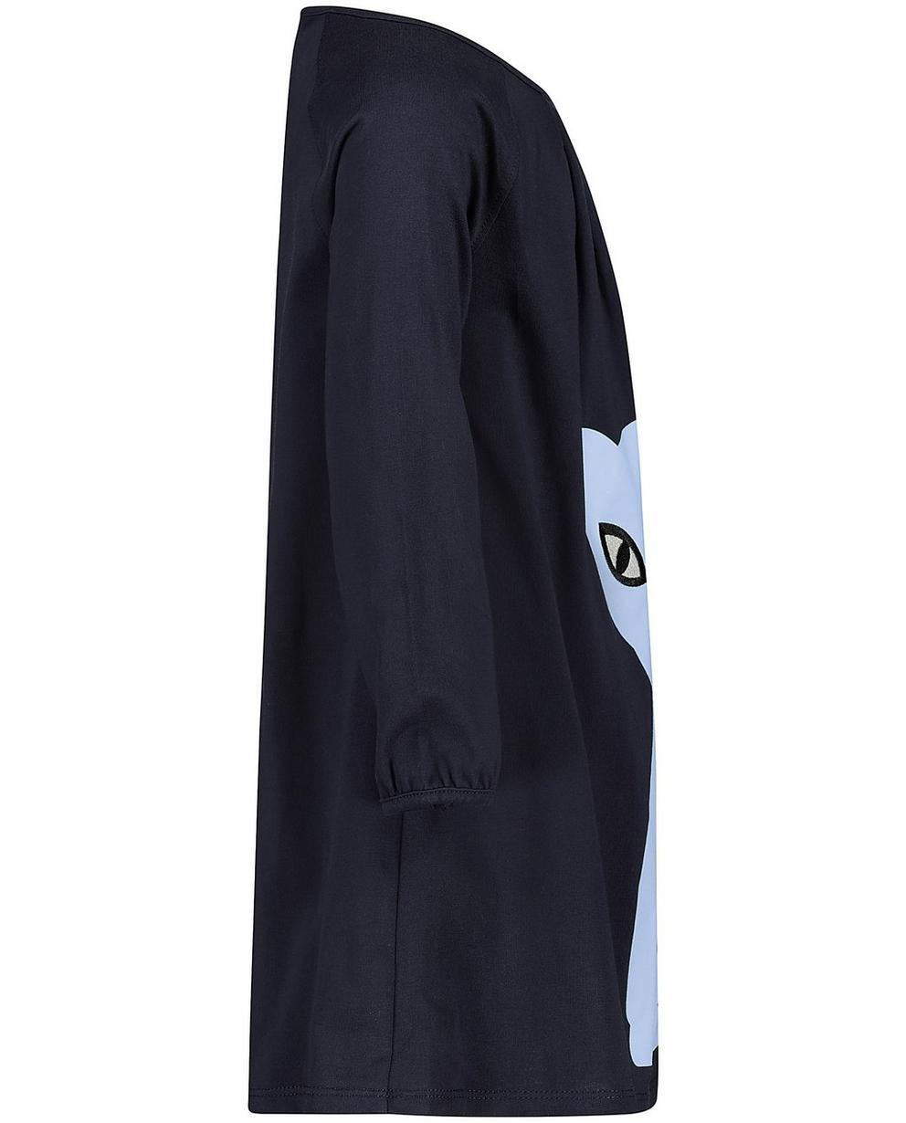 Kleedjes - BLD - Nachtblauwe jurk